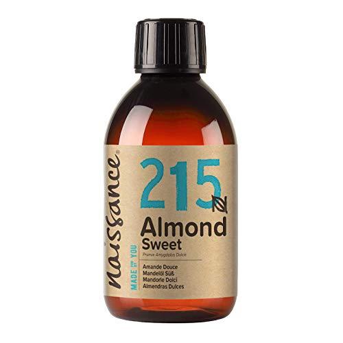 Naissance natürliches Mandelöl süß (Nr. 215) 250ml - Vegan, gentechnikfrei - Ideal zur Haar- und...
