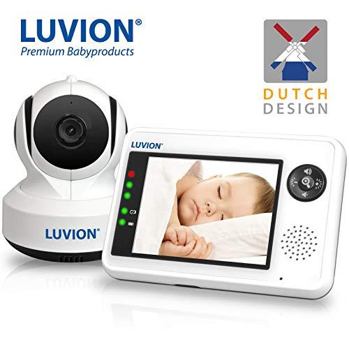 Luvion ESSENTIAL - Digitales Video-Babyphone / Überwachungsgerätmit 3,5 Zoll Farbbildschirm (UK...