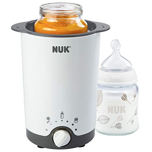 NUK Thermo 3 in 1 Flaschenwärmer, zum einfachen, sicheren und schonenden Erwärmen, Auftauen und...
