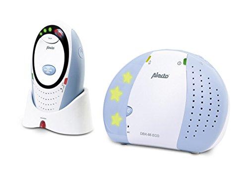 Alecto DBX-85 Digitale Eco DECT Babyphone (100% störungsfrei), hohe Reichweite von bis zu 300...
