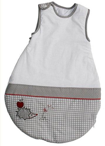roba Schlafsack, 70cm, Babyschlafsack ganzjahres/ganzjährig, aus atmungsaktiver Baumwolle