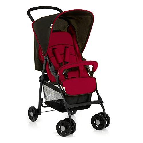 Hauck Buggy Sport / mit Liegefunktion, klein zusammenfaltbar / für Kinder ab Geburt bis 15 kg,...