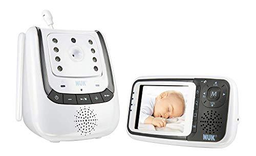 NUK Babyphone mit Kamera Eco Control+ Video, mit Gegensprechfunktion & Temperatursensor, frei von...