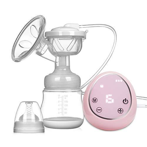 Elektrische Milchpumpe Brustpumpe, Einzel Muttermilch Abpumpen inkl. Schnuller aus Silikon mit...