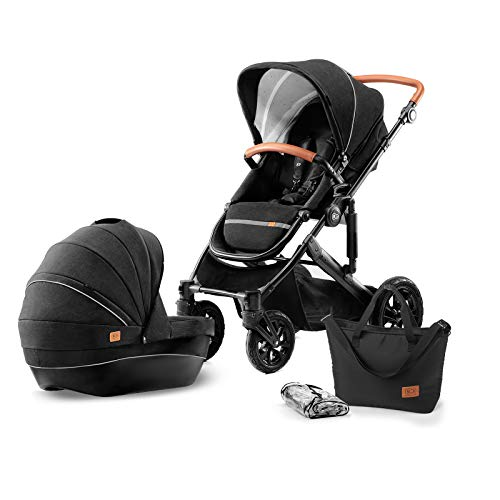 Kinderkraft Kinderwagen 2 in 1 PRIME , Kinderwagenset, Kombikinderwagen, Sportwagen, Buggy und...