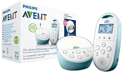 Philips Avent SCD560/00 Audio-Babyphone mit DECT-Technologie Smart Eco Mode, Gegensprechfunktion,...