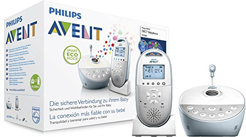 Philips Avent SCD580/00 Audio-Babyphone mit DECT-Technologie, Smart Eco Mode, Sternenhimmel,...