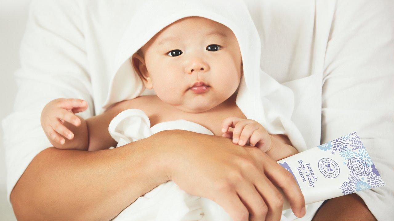 Babyöle sind wichtig für die Haut