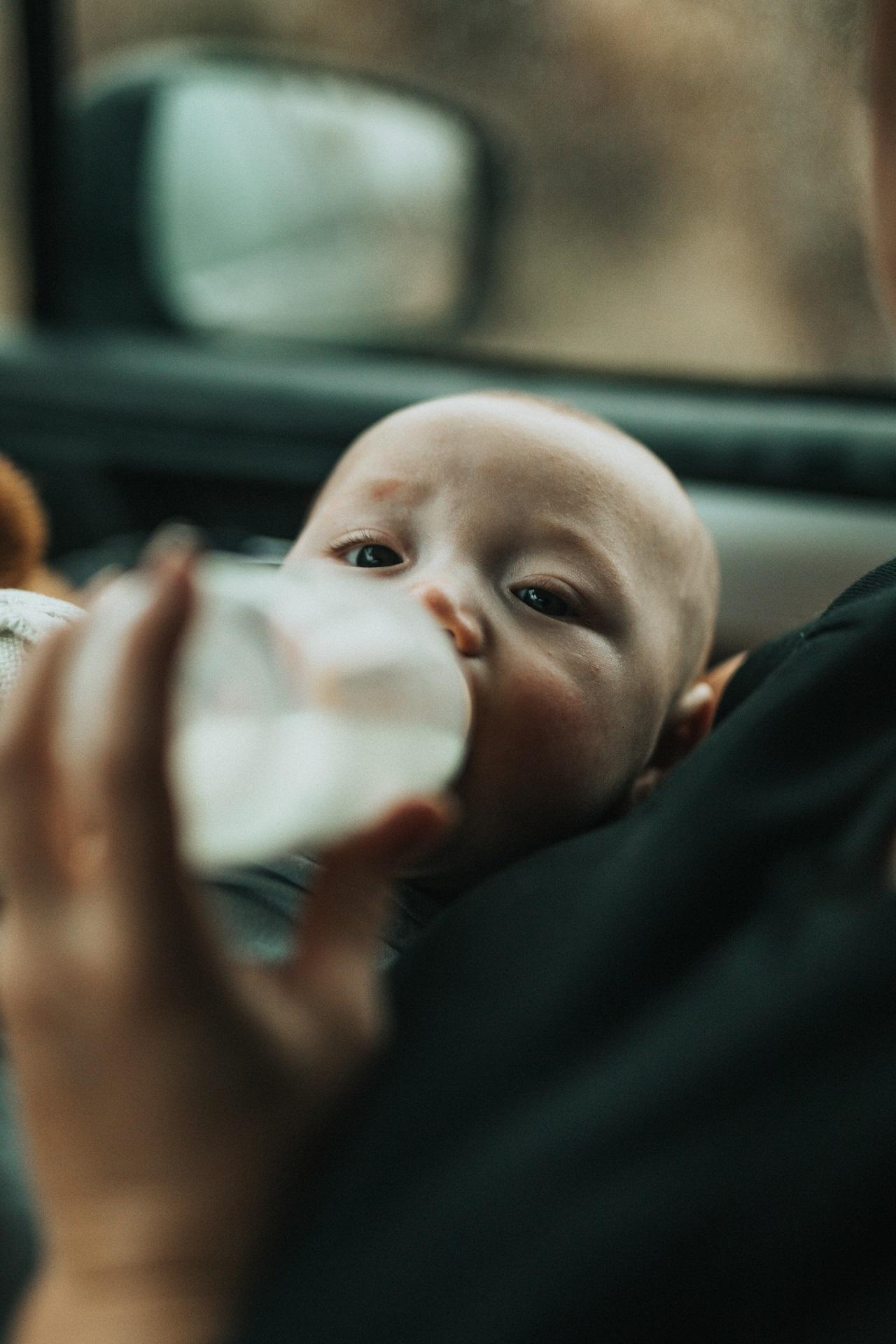 Mit einem Cool-Twister bekommst Du Dein Baby schnell und unkompliziert satt.